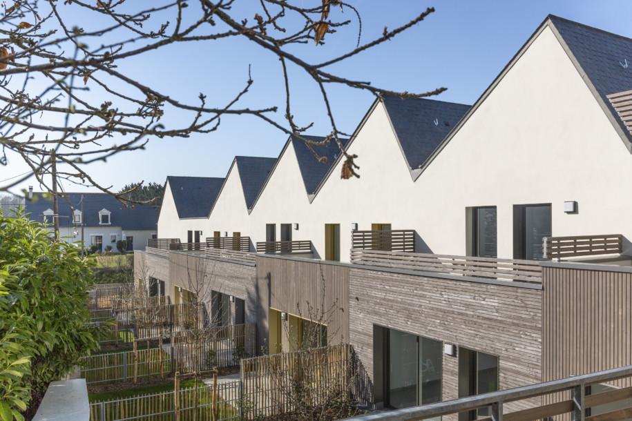 Les jardins privatifs des maisons groupées
