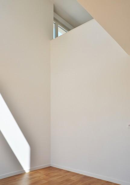 Duplex appartement dans le bâtiment collectif