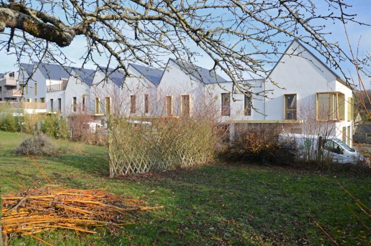 Décembre 2018- Les maisons depuis les jardins alentour