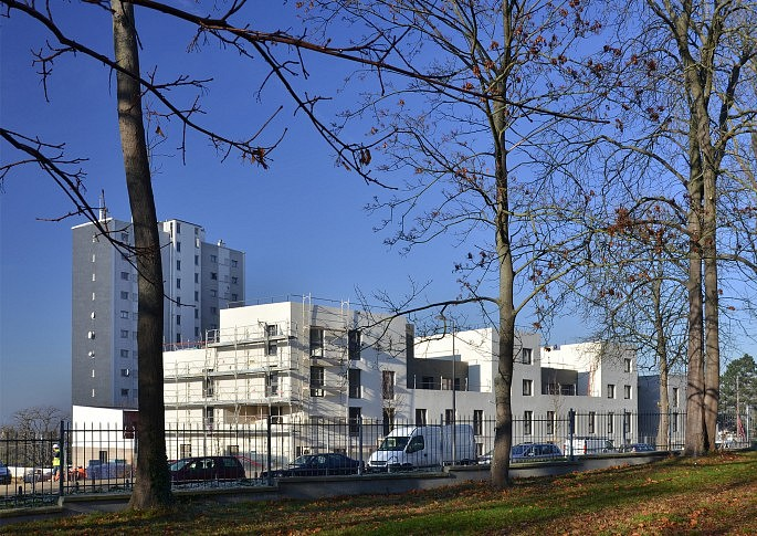 Le bâtiment collectif du lot A1