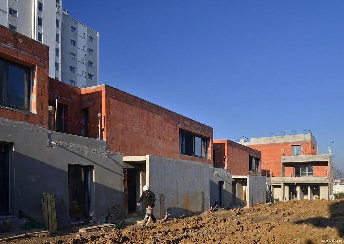 Les maisons du lot A1